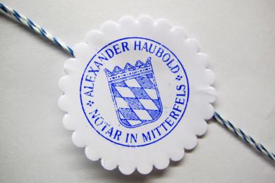Alexander Haubold, Rudolf Hötzl, Notar Mitterfels